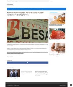 Titull - Xhemal Mena i BESËS në Ohër voton kundër punësimeve të shqiptarëve
